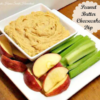 Peanut Butter Cheesecake Dip