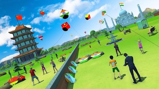 India Vs Pakistan Kite Flying Combat 4