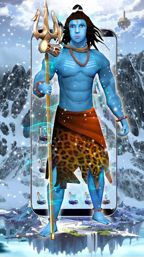 Lord Shiva 3D Launcher Theme by 3D Themes World (Google Play