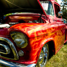 1957 Ford Pickup by Rick Touhey - Transportation Automobiles ( 1957 ford, classic car, pickup, ford,  )