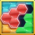 Hexa Block Tangram Puzzle icon