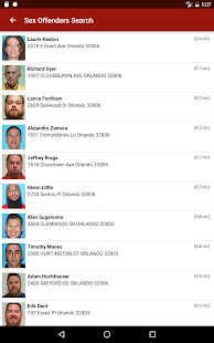 Sex Offenders Search- screenshot thumbnail