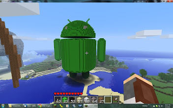 Photo: Google's android, built by guanaco32