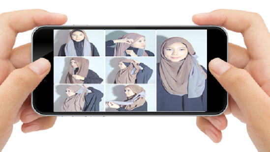 Tutorial Hijab Keren - náhled