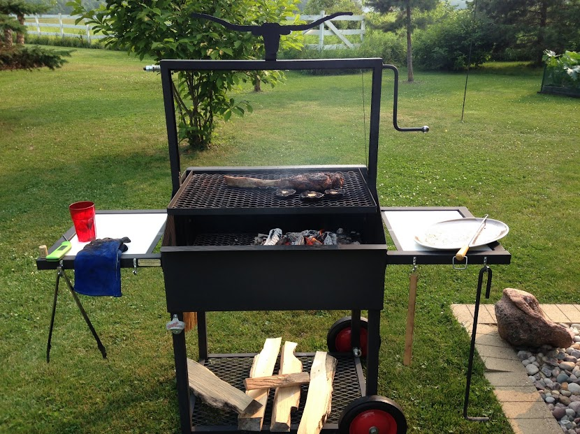 Santa Maria Style grills at Costco