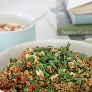 Burghul, Pimento And Paprika Salad