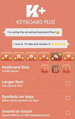 android Sweet Puppy Keyboard Screenshot 0