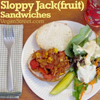 Sloppy Jack(fruit) Sandwiches