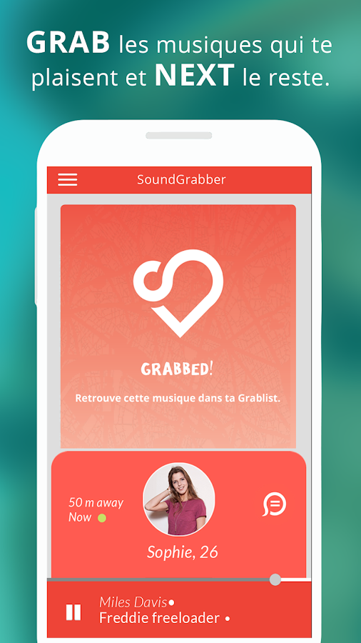 SoundGrabber: music around you- screenshot