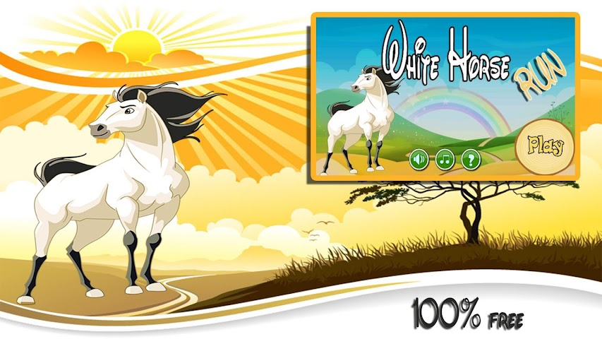 android White Horse Run Screenshot 0