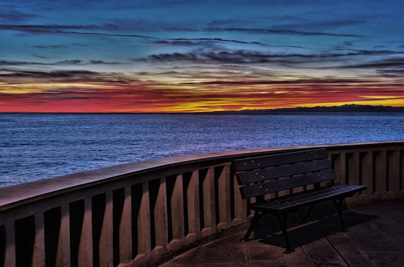 "La ""mia"" panchina...Camogli...i suoi tramonti di ely50"