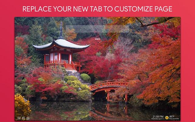 Japan Wallpaper HD Custom New Tab