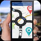GPS navegación- mapas ruta descubridor icon