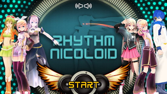 RHYTHM NICOLOID screenshot