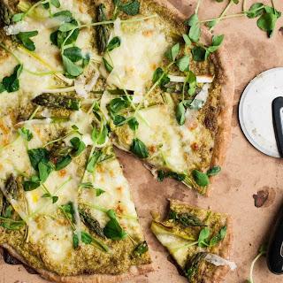Asparagus Pesto Pizza Recipes