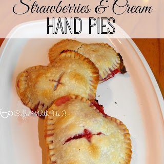 Strawberries and Cream Hand Pies