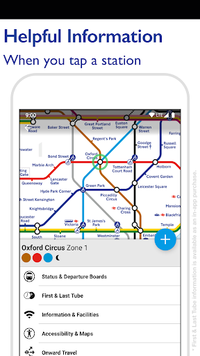Tube Map - TfL London Underground route planner 5.9.5 Screenshots 4