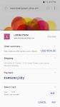 screenshot of Samsung Internet Browser