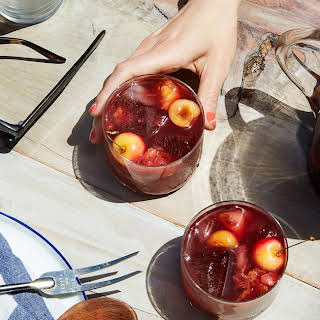 Grilled Stone Fruit Sangria.