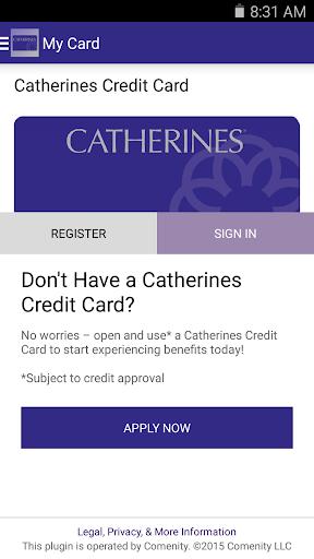 Catherines Card App