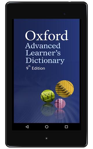 Oxford Advanced Learneru2019s Dictionary, 9th ed. 2015 Screenshots 6