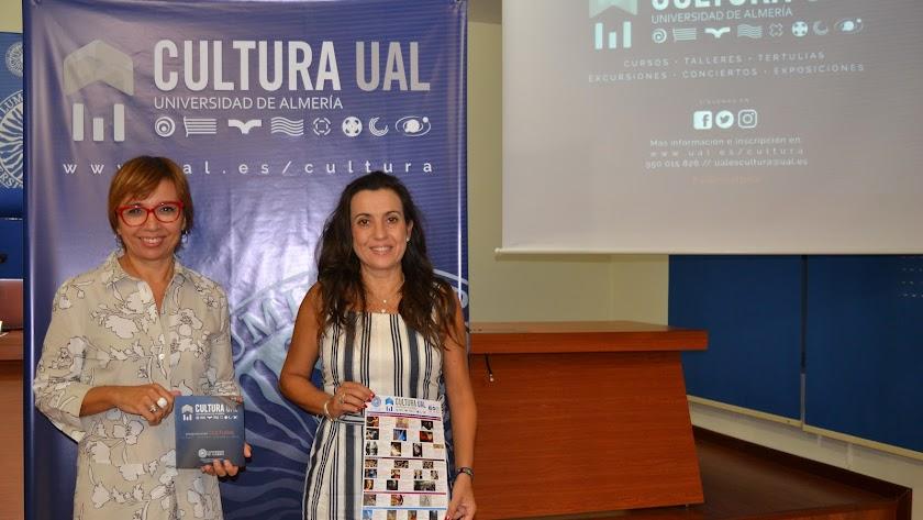 Presentación de la programación cultural de la Universidad de Almería.