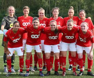Vrouwenploeg Standard speelt gelijk tegen Duitse tegenstander