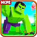 Hulk Super Heroes Mod MC Pocket Edition icon