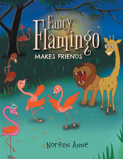 Fancy Flamingo Makes Friends