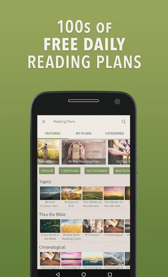 Bible by Olive Tree- screenshot