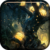 Fireflies In Magic Forest LWP