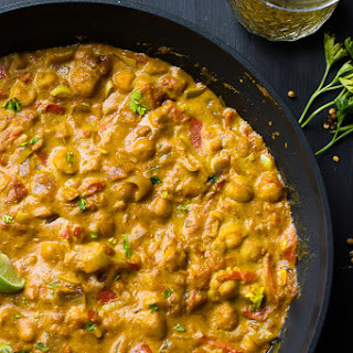 Coconut Chickpea Curry (Vegan & Gluten Free).