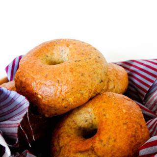 Honey Multigrain Bagels #BreadBakers.