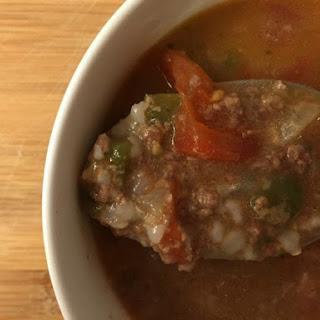 Paraguayan Beef Soup (Soyo Paraguay)