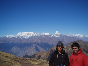 Photo: Many argue the view from Kuari Pass is the best panorama of the Western Himalaya.