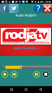 Radio Rodja MULTI SERVER screenshot 1