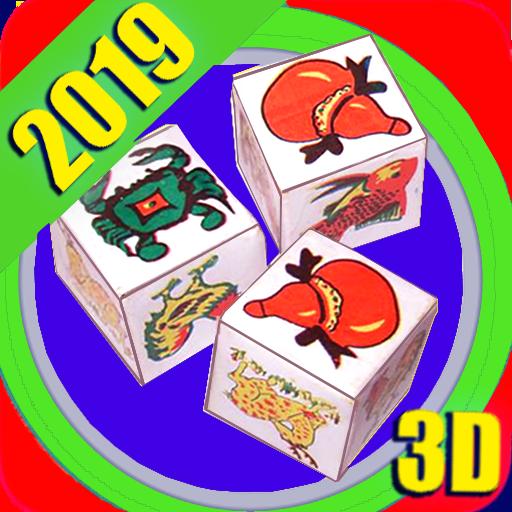 bau cua 2019 3D