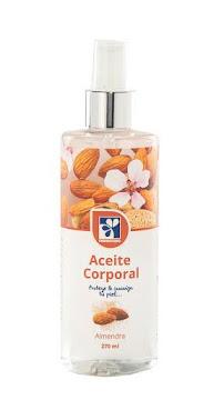 Aceite Farmatodo   Corporal Almendra X270Ml.