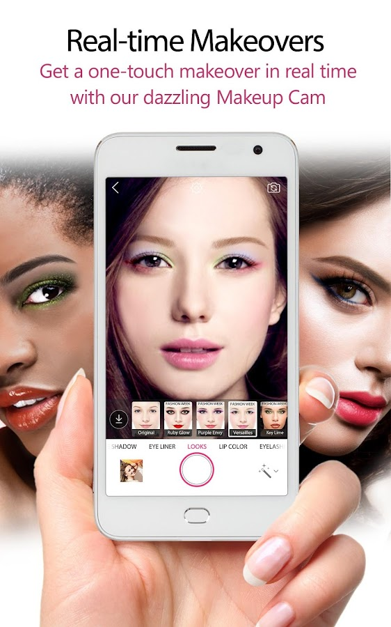 YouCam Makeup: Selfie Camera- screenshot