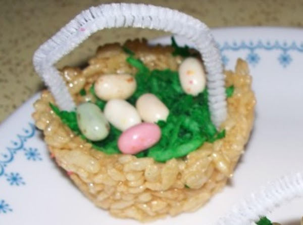 Rice Krispie Easter Baskets Recipe