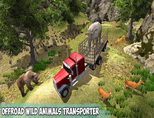 Offroad Wild Animals Transport - screenshot