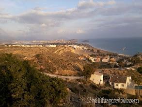 Photo: Utsikten över Bolnuevo är magnifik