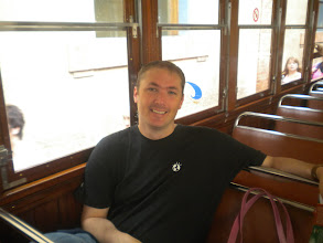 Photo: Taking the train from Palma to Soller, Mallorca Spain