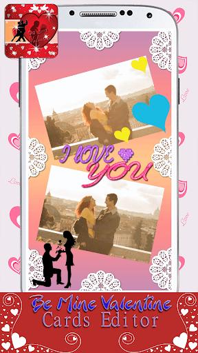 甘いバレンタインカード編集者