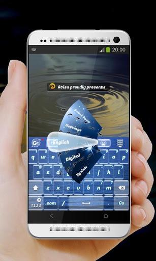 夜の輝き GO Keyboard