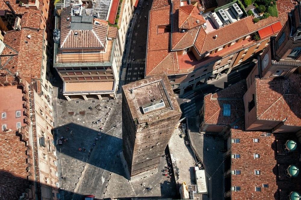 La Turritas, as antigas torres de Bolonha