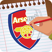 Tải Game Draw real football logo 2018