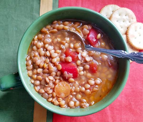 Greek Lentil Soup Recipe