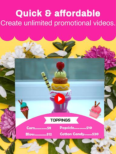 Marketing Video, Promo Video & Slideshow Maker 28.0 screenshots 12