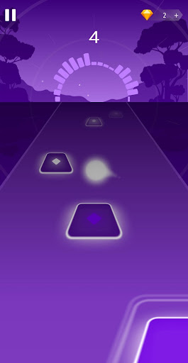 Dancing HOP: Tiles Ball EDM Rush androidiapk screenshots 1